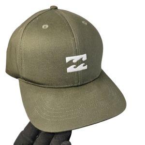 Unisex Embroidered Billabong hat olive green